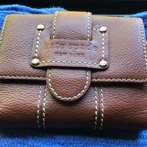 Kate Spade brown leather wallet
